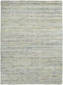 Mazic - Green_Grey Rug 140X200 Authentic  Modern Handknotted Light Grey/Light Green (Wool, India)