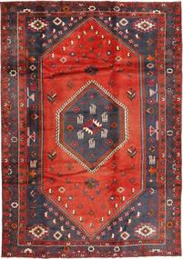 Klardasht Teppich  220X310 Echter Orientalischer Handgeknüpfter Dunkelbraun/Rost/Rot (Wolle, Persien/Iran)