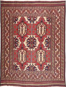 Kelim Golbarjasta Matto 209X281 Itämainen Käsinkudottu Tummanruskea/Ruskea (Villa, Afganistan)