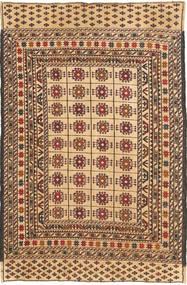 Kelim Golbarjasta Matta 123X190 Äkta Orientalisk Handvävd Ljusbrun/Mörkbeige (Ull, Afghanistan)