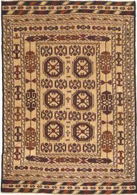 Kilim Golbarjasta Dywan 130X188 Orientalny Tkany Ręcznie (Wełna, Afganistan)