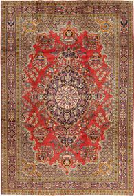 Golpayegan Matto 218X318 Itämainen Käsinsolmittu Ruoste/Ruskea (Villa, Persia/Iran)