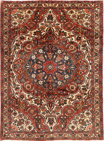 Bakhtiari Rug 210X292 Authentic  Oriental Handknotted Dark Red/Dark Brown (Wool, Persia/Iran)