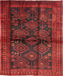 Lori Rug 176X210 Authentic  Oriental Handknotted Dark Red/Dark Brown (Wool, Persia/Iran)