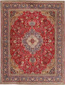 Tabriz Patina Rug 295X390 Authentic  Oriental Handknotted Dark Brown/Dark Red Large (Wool, Persia/Iran)