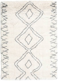 Berber Shaggy Massin Rug 140X200 Modern Beige/Light Grey ( Turkey)