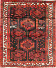 Lori Rug 194X231 Authentic  Oriental Handknotted Dark Red/Brown (Wool, Persia/Iran)