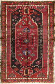 Lori Alfombra 150X237 Oriental Hecha A Mano Marrón Oscuro/Rojo Oscuro (Lana, Persia/Irán)