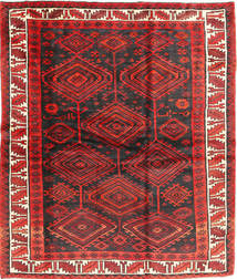 Lori Rug 183X214 Authentic  Oriental Handknotted Dark Red/Dark Brown (Wool, Persia/Iran)