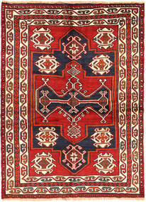 Lori Rug 150X210 Authentic  Oriental Handknotted Dark Purple/Beige (Wool, Persia/Iran)