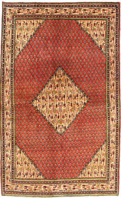 Sarouk Mir Rug 128X215 Authentic  Oriental Handknotted Rust Red/Brown (Wool, Persia/Iran)
