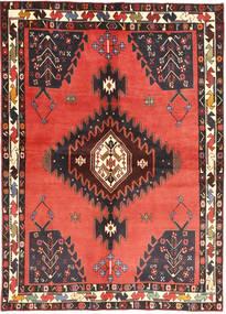 Afshar Matto 148X213 Itämainen Käsinsolmittu Tummansininen/Oranssi (Villa, Persia/Iran)