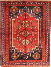 Lori Rug 154X212 Authentic Oriental Handknotted Dark Purple/Rust Red (Wool, Persia/Iran)