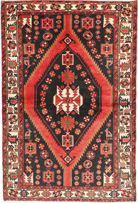 Bakhtiari Rug 147X220 Authentic Oriental Handknotted Black/Dark Red (Wool, Persia/Iran)