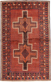 Afshar Rug 133X216 Authentic Oriental Handknotted Dark Red/Brown (Wool, Persia/Iran)