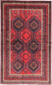 Afshar Vloerkleed 138X233 Echt Oosters Handgeknoopt Donkerrood/Donkerbruin (Wol, Perzië/Iran)