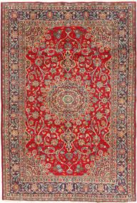 Mashad Matto 195X295 Itämainen Käsinsolmittu Tummanpunainen/Ruoste (Villa, Persia/Iran)