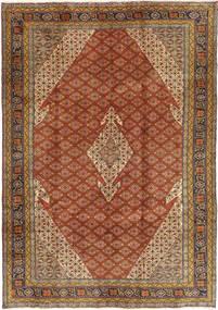 Ardebil Matto 202X290 Itämainen Käsinsolmittu Ruskea/Vaaleanruskea (Villa, Persia/Iran)