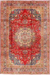 Mashad Rug 194X290 Authentic  Oriental Handknotted Rust Red/Light Brown (Wool, Persia/Iran)