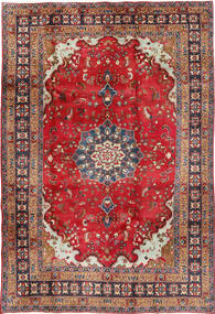 Koliai Rug 201X295 Authentic  Oriental Handknotted Dark Red/Crimson Red (Wool, Persia/Iran)