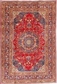 Mashad Teppe 202X296 Ekte Orientalsk Håndknyttet Mørk Rød/Rust (Ull, Persia/Iran)