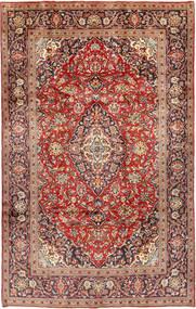 Keshan Teppe 197X311 Ekte Orientalsk Håndknyttet Lysbrun/Brun (Ull, Persia/Iran)