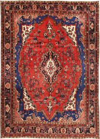 Mehraban Covor 211X293 Orientale Lucrat Manual Roșu-Închis/Ruginiu (Lână, Persia/Iran)