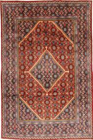 Mahal Matto 208X307 Itämainen Käsinsolmittu Tummanpunainen/Tummanruskea (Villa, Persia/Iran)