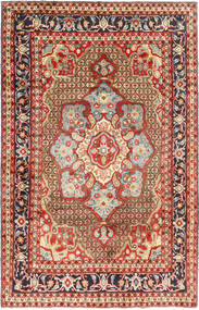 Koliai Rug 198X308 Authentic  Oriental Handknotted Dark Red/Dark Brown (Wool, Persia/Iran)