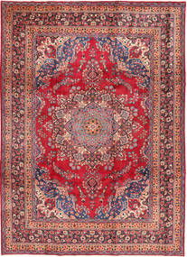Mashad Rug 248X340 Authentic  Oriental Handknotted Dark Red/Rust Red (Wool, Persia/Iran)