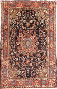 Hamadan Teppe 206X326 Ekte Orientalsk Håndknyttet Lysbrun/Mørk Grønn (Ull, Persia/Iran)