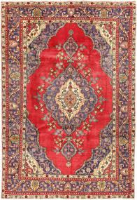 Tabriz Tappeto 208X310 Orientale Fatto A Mano Porpora/Marrone (Lana, Persia/Iran)