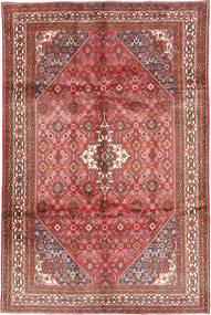 Asadabad Teppe 208X320 Ekte Orientalsk Håndknyttet Lysbrun/Mørk Grå (Ull, Persia/Iran)