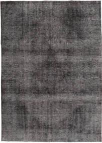 Colored Vintage Tæppe 196X276 Ægte Moderne Håndknyttet Mørkeblå/Lysegrå/Mørkegrå (Uld, Pakistan)
