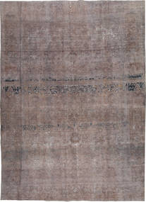 Colored Vintage Rug 262X368 Authentic  Modern Handknotted Dark Grey/Light Brown Large (Wool, Pakistan)