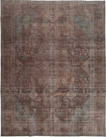 Colored Vintage Rug 290X383 Authentic  Modern Handknotted Light Brown Large (Wool, Pakistan)