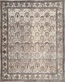 Colored Vintage Teppe 283X378 Ekte Moderne Håndknyttet Lys Grå/Lysbrun Stort (Ull, Pakistan)
