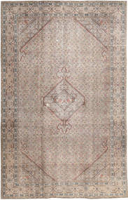 Colored Vintage Rug 191X298 Authentic  Modern Handknotted Light Grey (Wool, Pakistan)