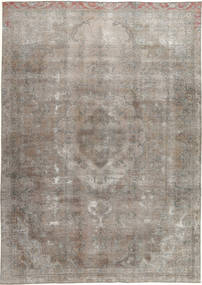 Colored Vintage Rug 240X337 Authentic  Modern Handknotted Light Grey (Wool, Pakistan)