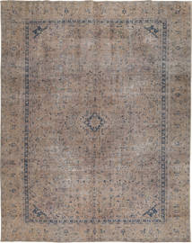 Colored Vintage Rug 271X354 Authentic  Modern Handknotted Light Grey/Dark Grey Large (Wool, Pakistan)