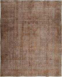 Colored Vintage Rug 293X381 Authentic  Modern Handknotted Brown/Light Brown Large (Wool, Pakistan)