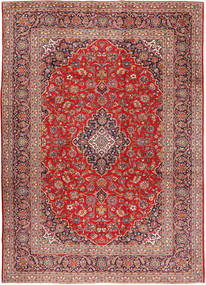Keshan Rug 275X385 Authentic  Oriental Handknotted Rust Red/Brown Large (Wool, Persia/Iran)