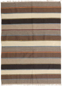 Kilim Tapete 148X203 Oriental Tecidos À Mão Castanho Claro/Castanho (Lã, Pérsia/Irão)
