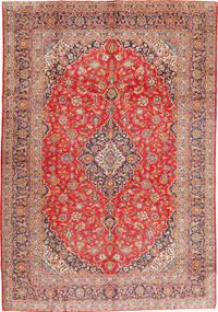 Keshan Signature : Kashan Ghotbi Matto 294X423 Itämainen Käsinsolmittu Ruskea/Vaaleanruskea Isot (Villa, Persia/Iran)