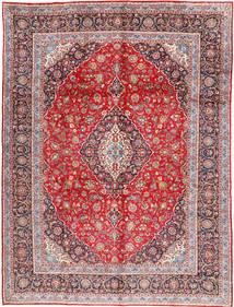 Keshan Matto 302X404 Itämainen Käsinsolmittu Vaaleanruskea/Vaaleanharmaa Isot (Villa, Persia/Iran)