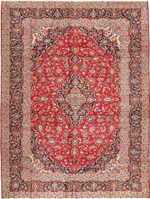 Kashan Tapis 295X392 D'orient Fait Main Violet/Gris Foncé Grand (Laine, Perse/Iran)