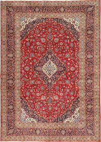 カシャン 絨毯 300X423 オリエンタル 手織り 茶/錆色 大きな (ウール, ペルシャ/イラン)