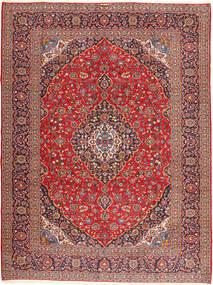 Keshan Signature : Kashan Emami Matto 303X406 Itämainen Käsinsolmittu Tummanpunainen/Tummanruskea Isot (Villa, Persia/Iran)