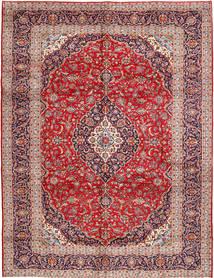 Keshan Matto 300X385 Itämainen Käsinsolmittu Ruoste/Tummanpunainen Isot (Villa, Persia/Iran)