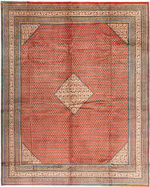 Sarouk Mir Rug 292X375 Authentic  Oriental Handknotted Light Brown/Brown Large (Wool, Persia/Iran)